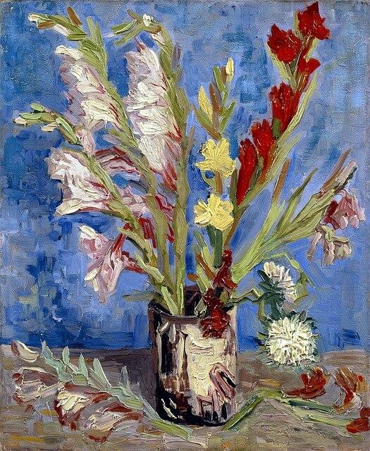 Vincent van gogh gladiolus