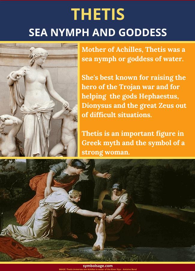 Who is Thetis Greek mythology