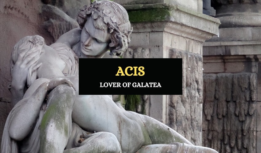 Acis Greek lover of Galatea