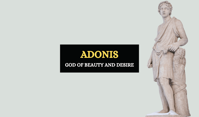 Adonis Greek mythology