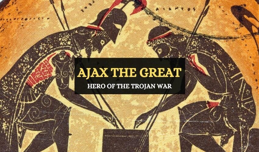 Ajax the great Greek mythology