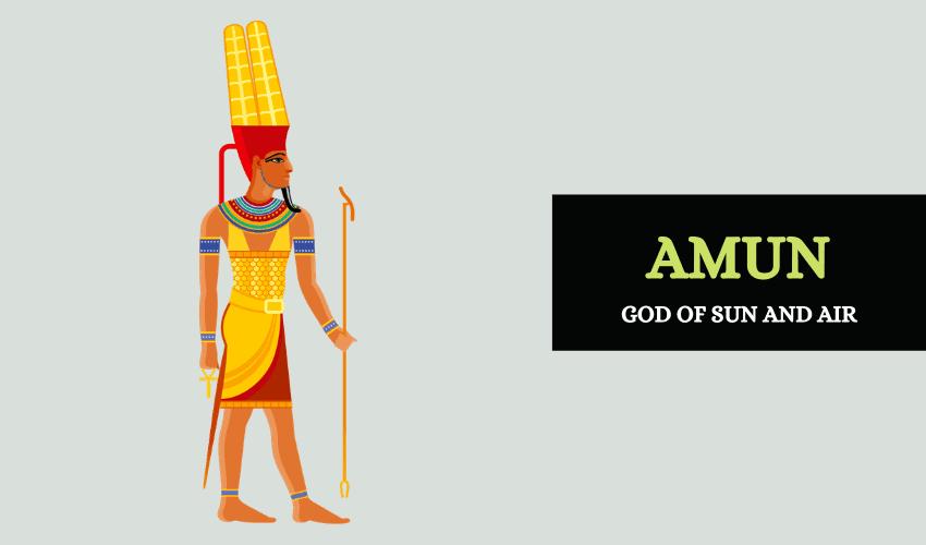 Amun Egyptian god