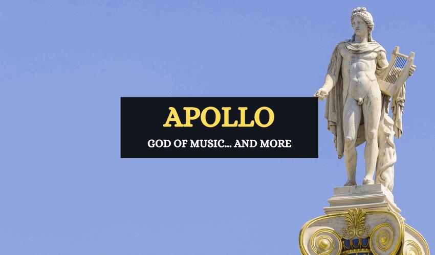 Apollo Greek god of music