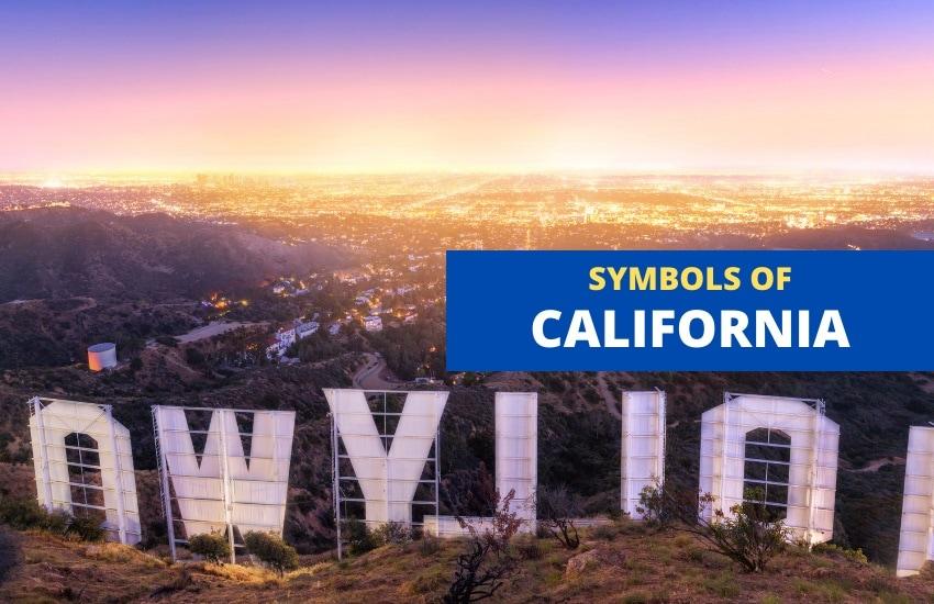 California symbols list
