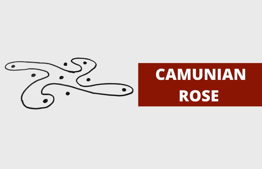 Camunian rose symbolism