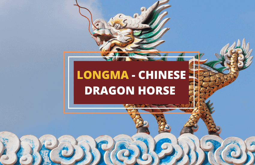 Chinese dragon-horse