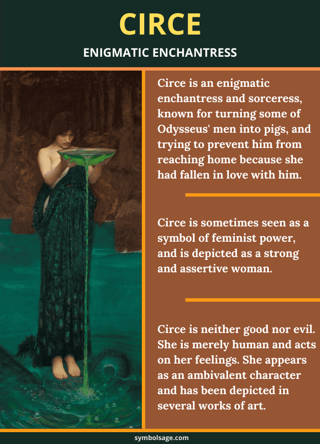 Circe importance Greek myth symbol