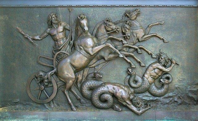 Depiction of monsters Greek mythology