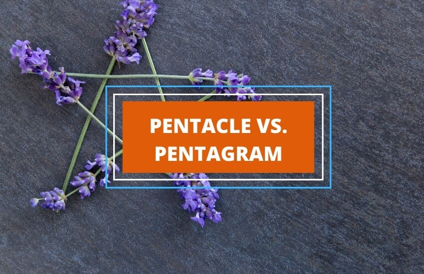 Difference between pentacle and pentagram