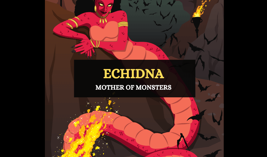 Echidna Greek mother of monsters