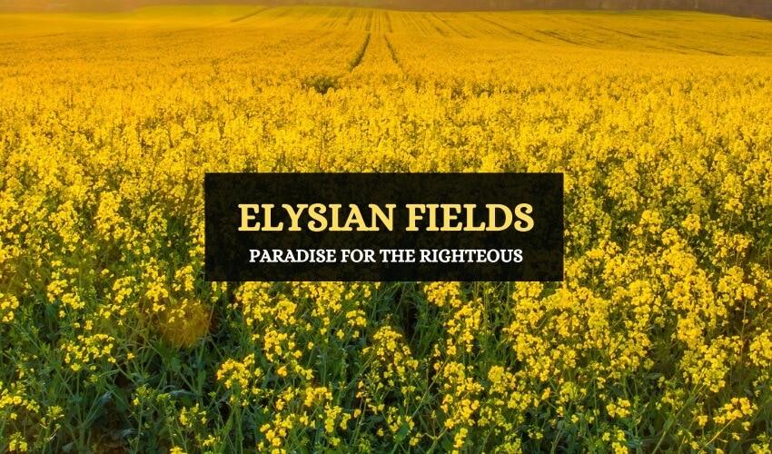 Elysian fields Greek mythology