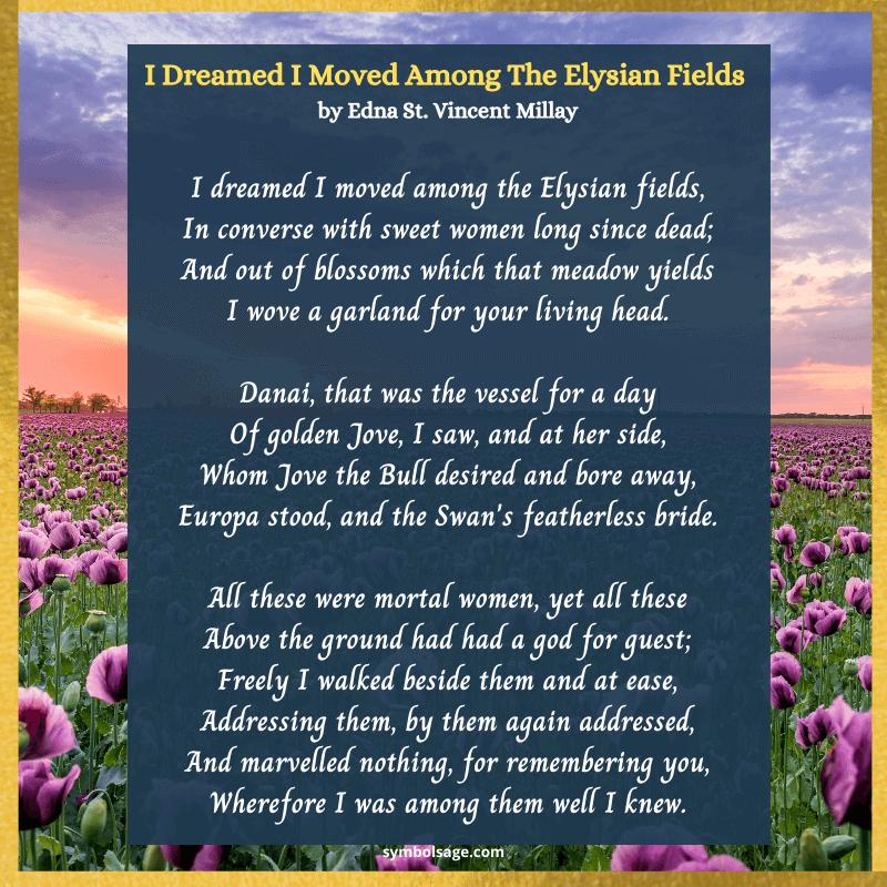 Elysian fields poem