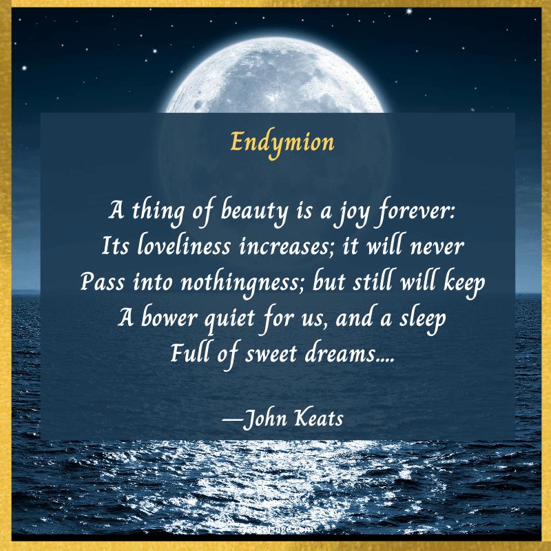 Endymion poem Greek
