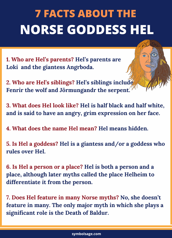 Facts about Hel goddess