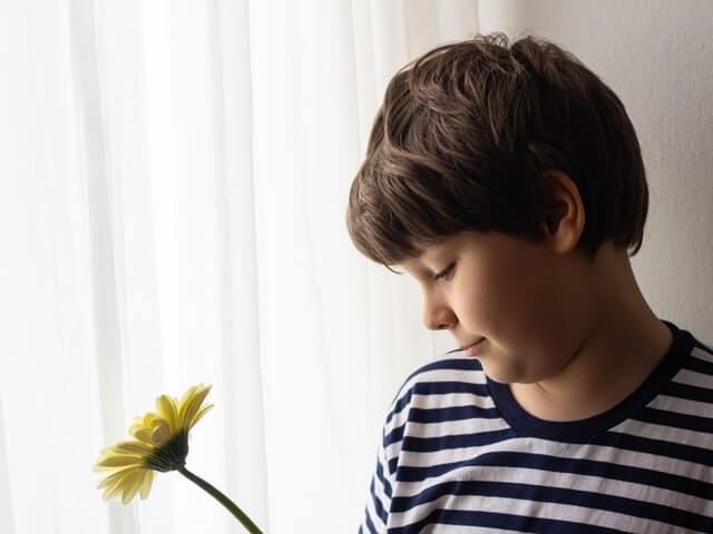 Flowers for son