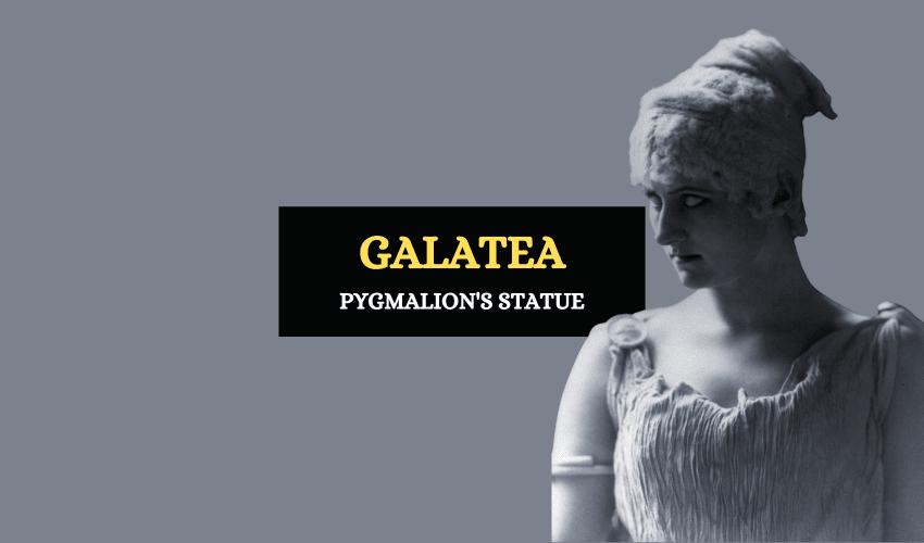 Galatea Pygmalion statue Greek mythology