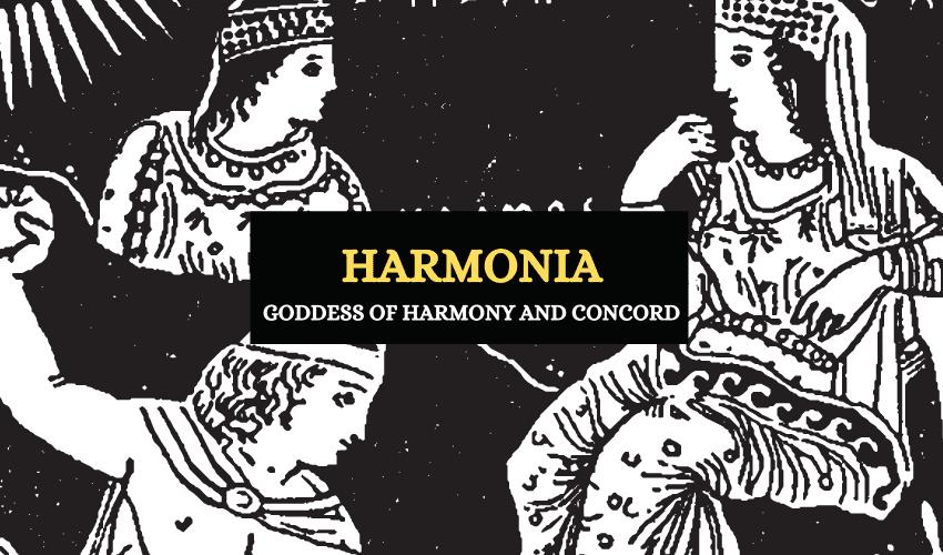 Harmonia Greek mythology