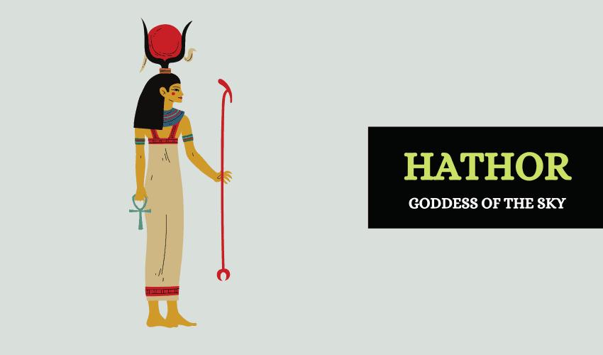Hathor Egyptian goddess of sky