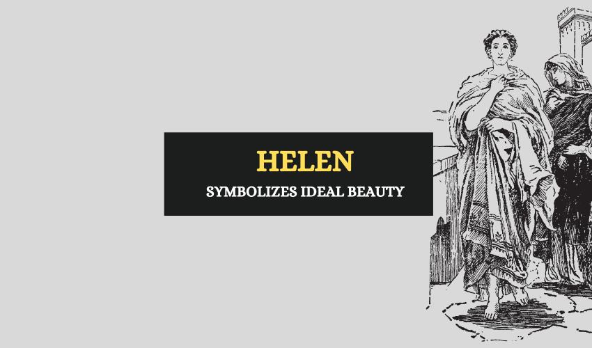 Helen of Troy Greek mythology