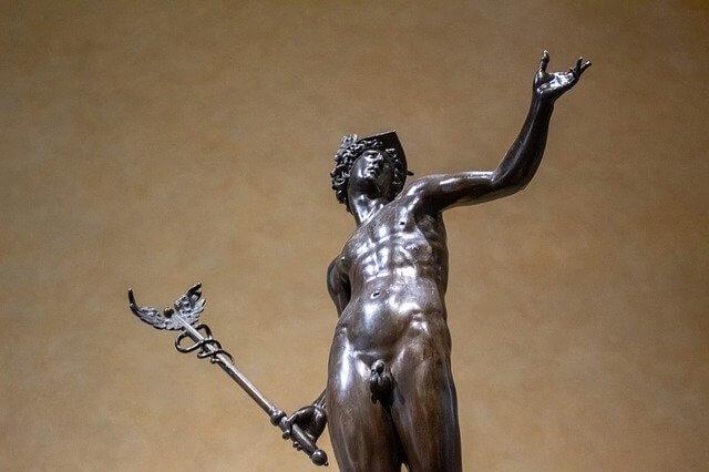 Hermes god of speed