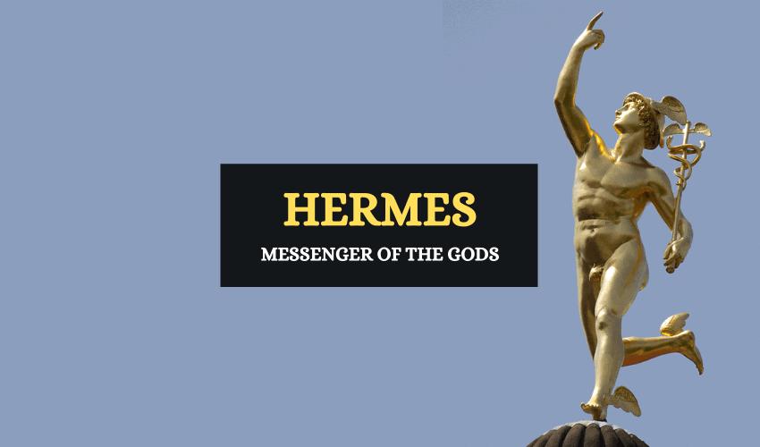 Hermes messenger of gods