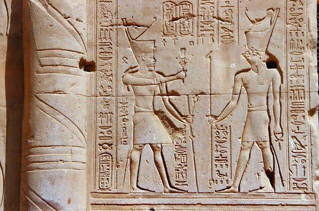 Horus and pharaohs