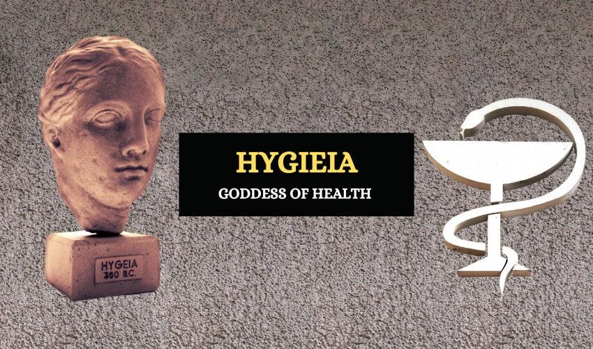 Hygeia Greek goddess