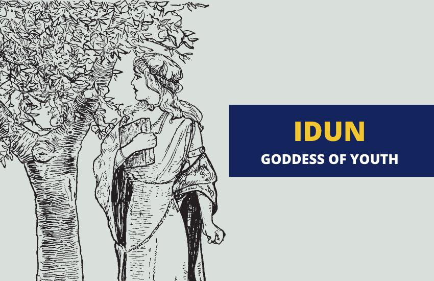 Idun Norse goddess of youth renewal