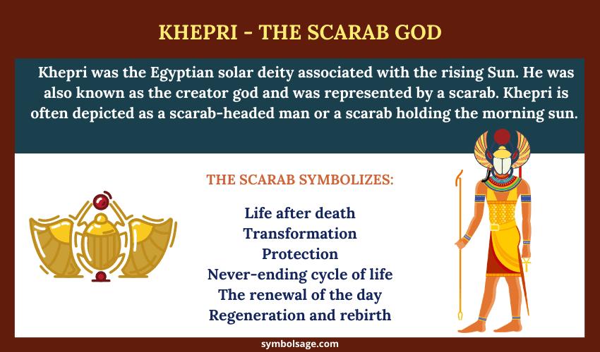 Khepri symbolism meaning