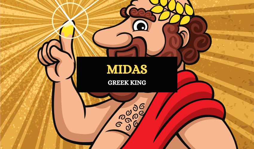 Midas Greek king