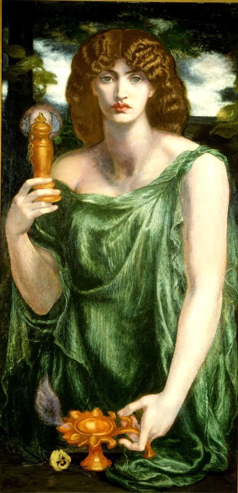 Mnemosyne Titan goddess of memory