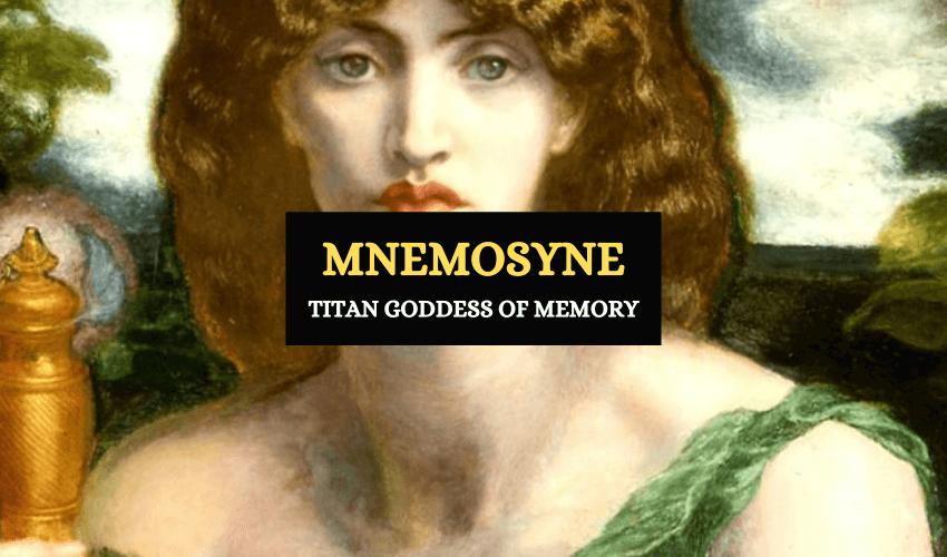 mnemosyine memory goddess