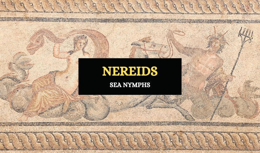 Nereids Greek sea nymphs