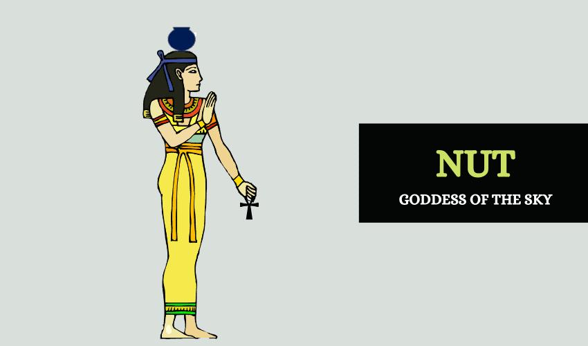 Nut Egyptian goddess
