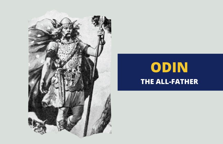 Odin the all father Norse mythology
