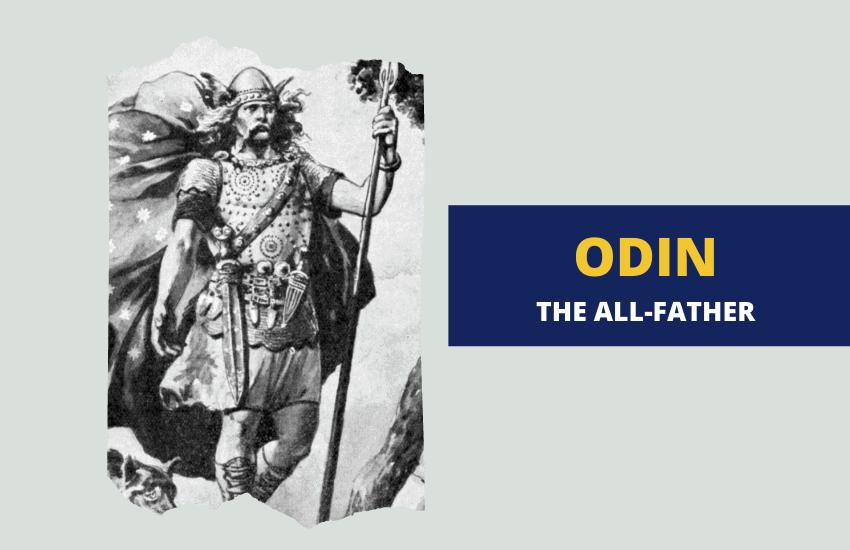 Odin the all father Norse mythology