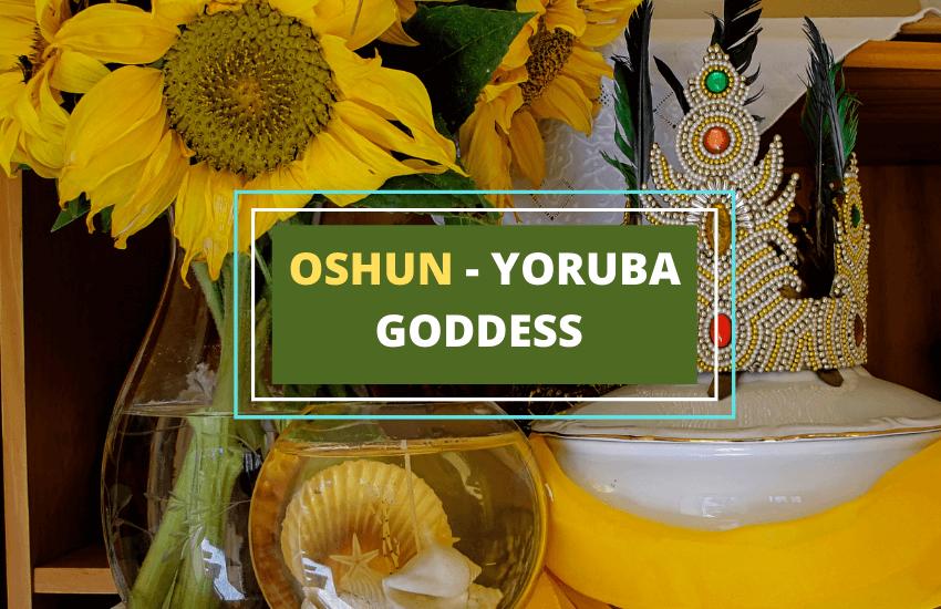 Oshun goddess yoruba symbol