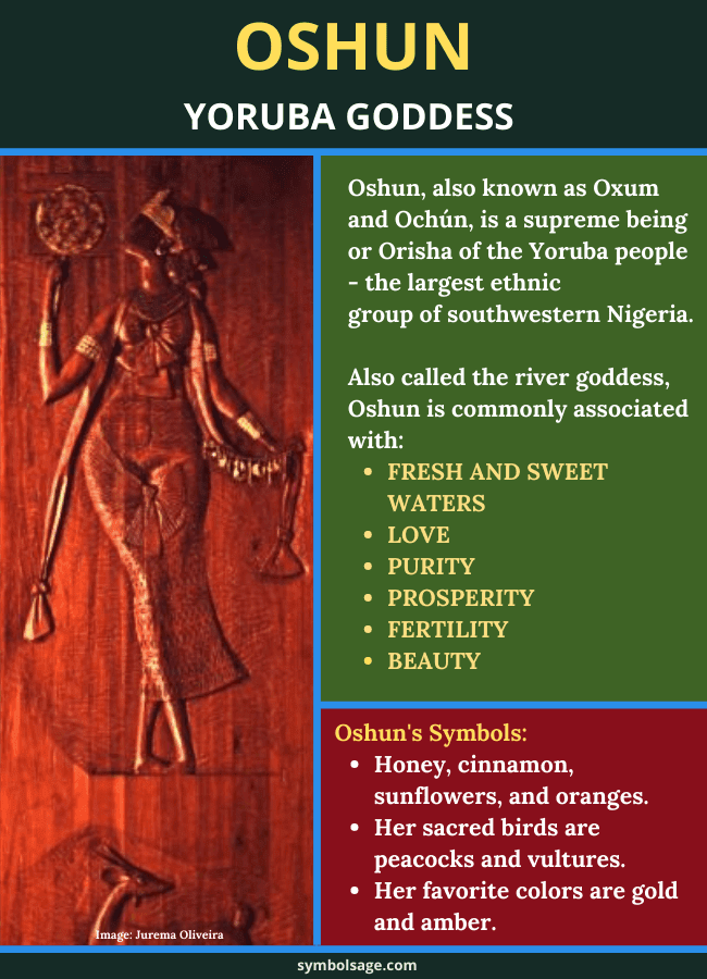 Oshun yoruba goddess symbolism