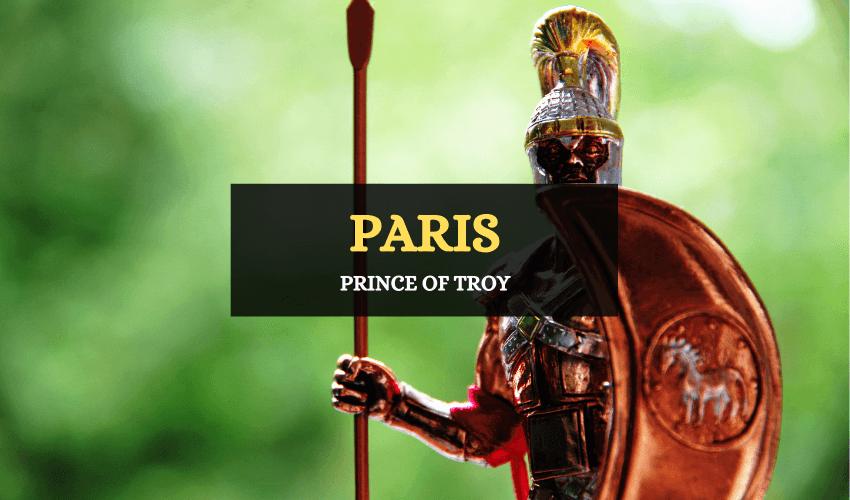 Paris prince of troy