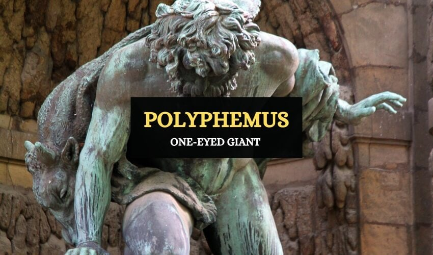 Polyphemus – The One-eyed Giant - Symbol Sage