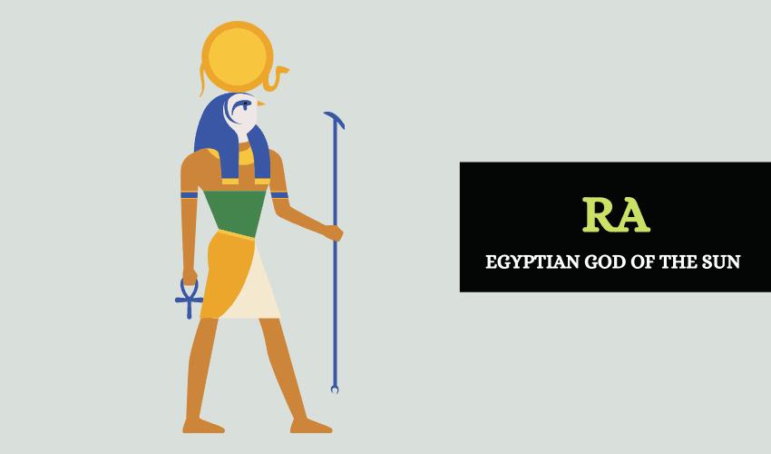 Ra Egyptian god of the sun