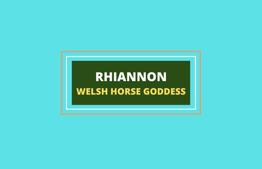 Rhiannon goddess symbolism