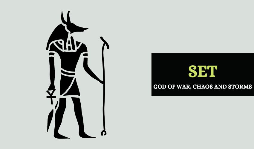 Set Egyptian god of war