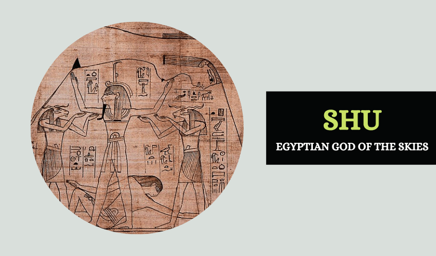 Shu god of the skies Egyptian