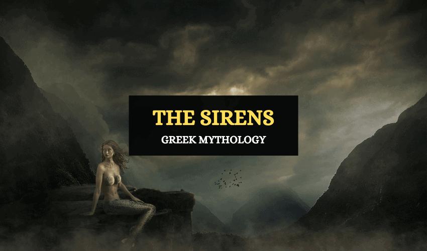Sirens Greek mythology symbolism