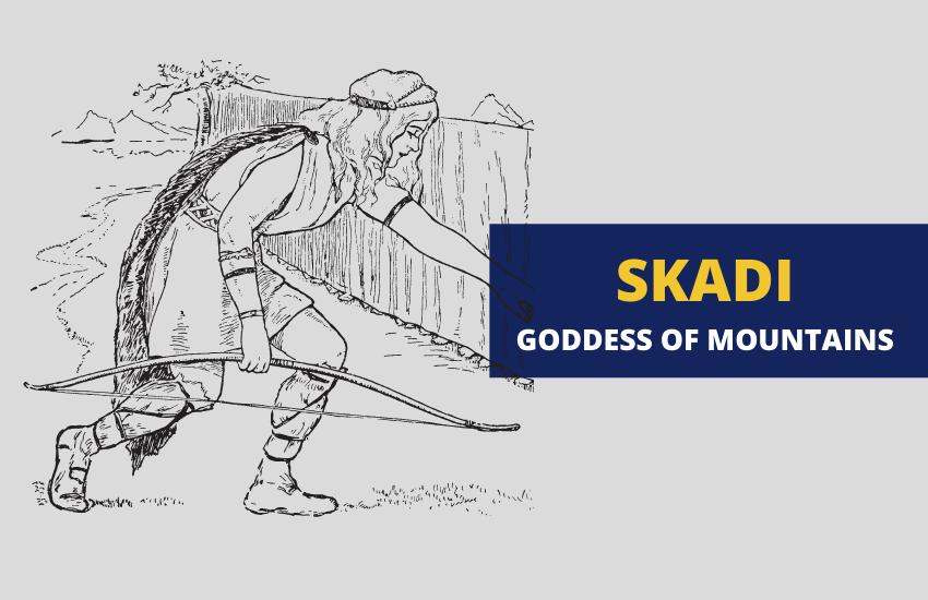 Skadi in Norse mythology