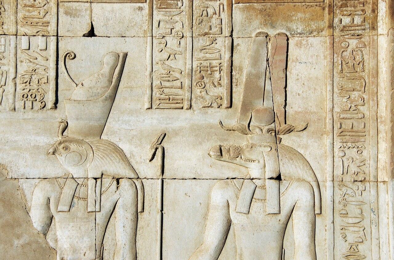 Sobek and Horus