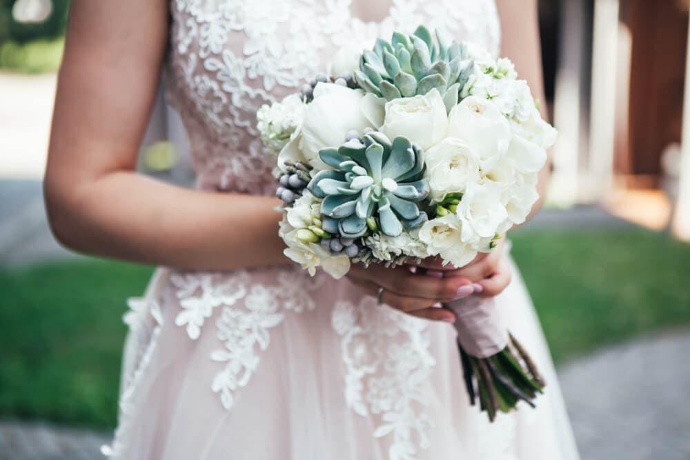 succulent bouquet unique