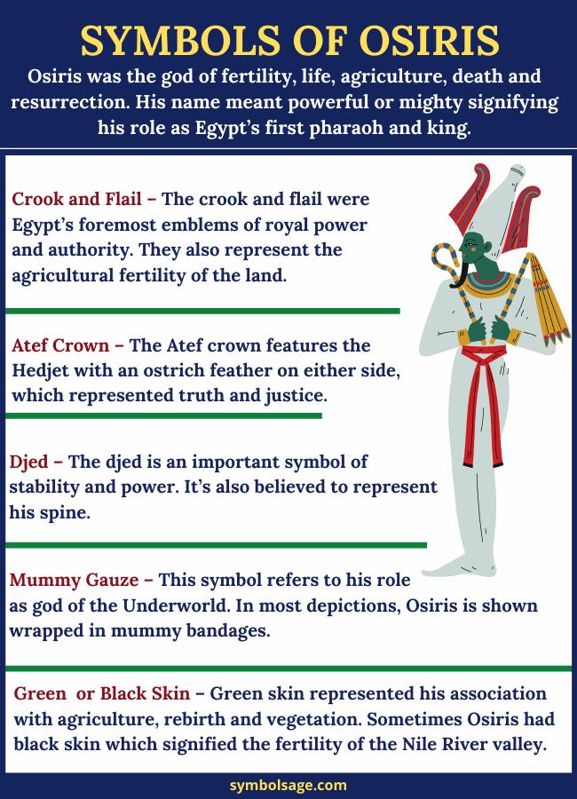 Symbols of Osiris