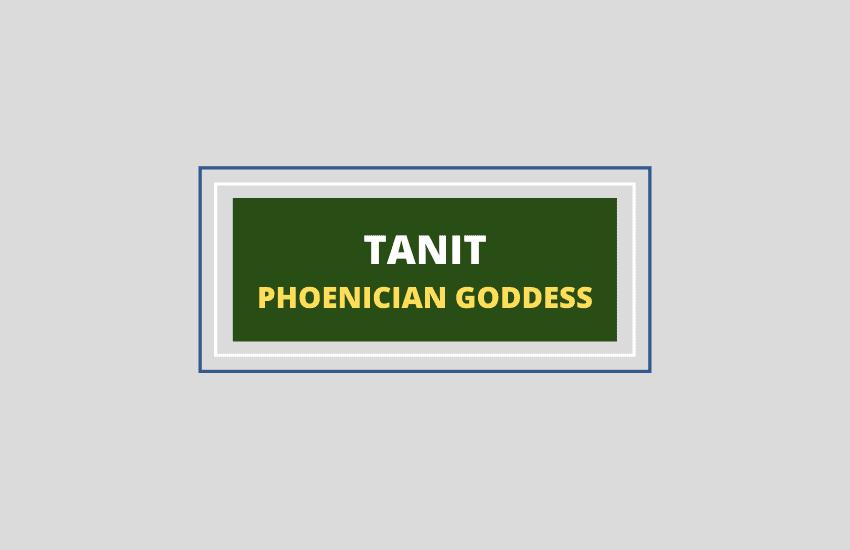 Tanit goddess symbolism